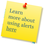 Learn more about using alerts here